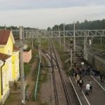 Вид с моста в Кирилловском