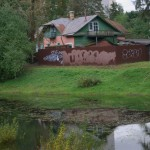 Дом на берегу озера Линден