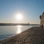 Солнце в Петропавловской крепости