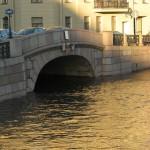 """""""Вход в Зимнюю канавку"""" - вид с Певческого моста"""