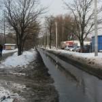 Вешние воды. Фермское шоссе.