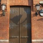 """""""Двери""""  в Декорационный магазинъ и залъ. Ул. Писарева, 20."""