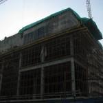 Строительство второй сцены Мариинского театра.