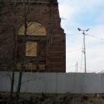 Новая Голландия. Остатки стены.