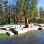Мини- Петропавловская крепость в Александровском парке.