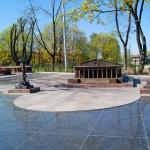 Мини- Стрелка Васильевского острова Александровском парке.