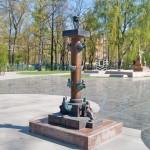 Ростральная колонна в Александровском парке.