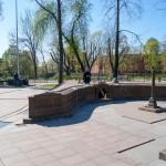 Здание Главного штаба в Александровском парке.