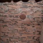 Петропавловская крепость. Потолок потерны Государева бастиона.