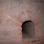 Петропавловская крепость. Бойница в наружной стене потерны Государева бастиона.