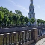 На Крюковом канале. Колокольня Никольского собора.