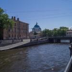 На Крюковом канале. Вид на Троице-Измайловский собор.