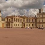 Панорама Большого Гатчинского дворца.