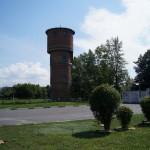 Старый Оскол. Водонапорная башня у стадиона имени Ватутина.