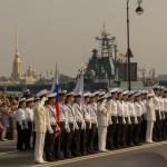 День ВФМ: моряки на параде
