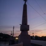 Рассвет начинается. Каменноостровский мост.