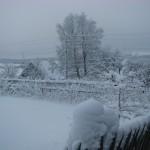 В Сегеже. Мороз на Гористой.