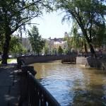 Июнь. На набережной канала Грибоедова.