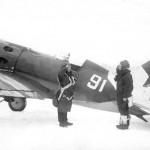 Самолёт-истребитель И-16.