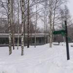 Здание музея в Разливе.
