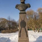 Памятник Мосину в Сестрорецке.