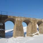 У крепости Копорье: крепостной мост после реставрации.