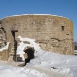 Крепость Копорье. Северная Воротная башня.