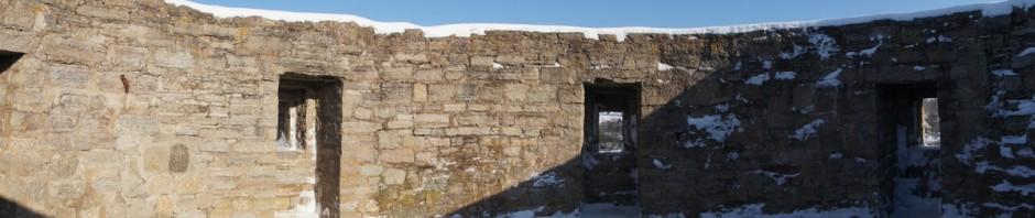 Крепость Копорье. В Северной Воротной башне.