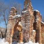 Крепость Копорье. Еще невосстановленная часть Спасо-Преображенского собора.
