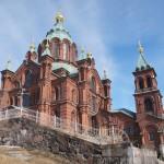 Успенский собор в Хельсинки. Преодолеваем высоту.