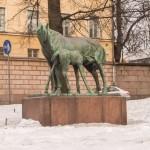 """Памятник """"Материнская любовь"""" в Хельсинки."""