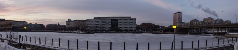 Хельсинки. Сумерки.