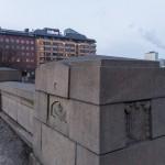Длинный мост (Pitkäsilta) в Хельсинки.