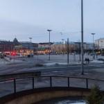 Площадь Хаканиеми в Хельсинки.