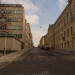 На улицах Хельсинки. Воскресное утро.
