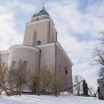 У церкви Суоменлинна в Свеаборге.
