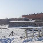 В крепости Свеаборг. Мост между Большим Черным островом и Вочьим островом.