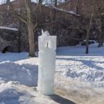 В Свеаборге. Ледяная свеча.