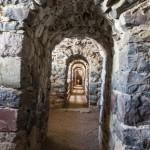 Свеаборг. Длинный крепостной коридор.