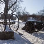 Бастионные пушки в крепости Свеаборг.