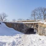 В крепости Свеаборг. Каменная арка.