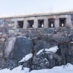 Крепостные укрепления в Свеаборге.