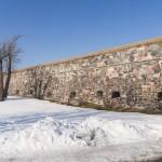 Крепостные стены в Свеаборге.
