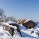 В крепости Свеаборг. У залива.
