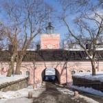 В крепости Свеаборг. Главный вход у пристани на острове Iso Mustasaari (Большой черный).