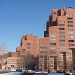 Архитектурные изыски на аллее Котельникова.