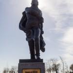 Франсиско де Миранда. Памятник в парке 300-летия Петербурга.