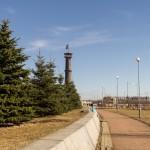 В парке 300-летия Петербурга.