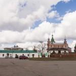 Никольский мужской монастырь в Старой Ладоге.