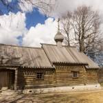 Крепость Старая Ладога. Церковь Дмитрия Солунского.